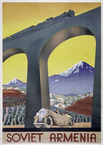 Poster of Soviet Armenia - PeopleOfAr