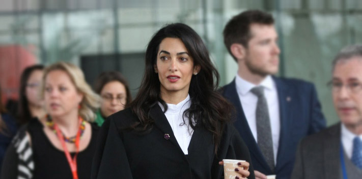 Amal Clooney Represents Armenia in Court Against Armenian Genocide ...