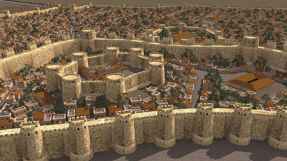 Dvin city 3D reconstruction4