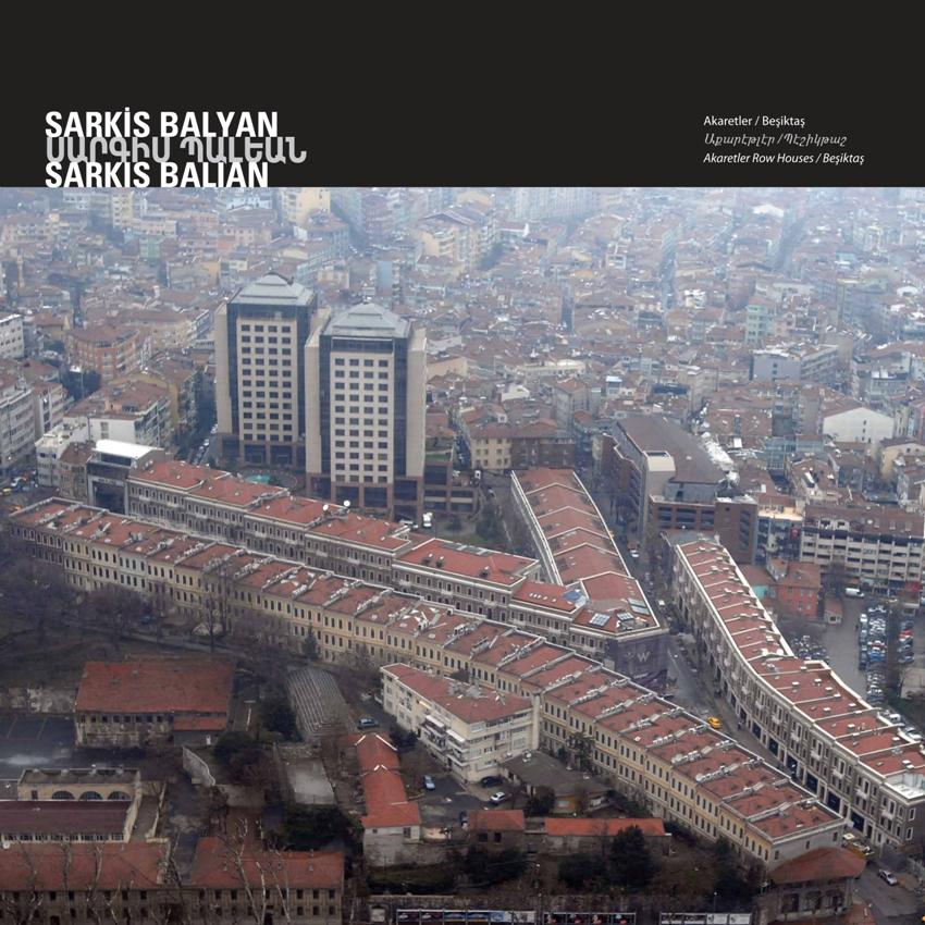 Akaretler Row Houses by Sarkis Balyan