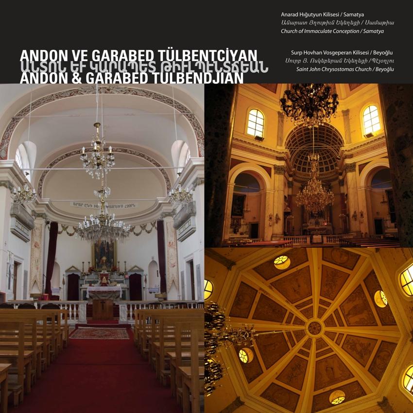 """Church of Immaculate Conception"" - ""Saint John Chrysostomas Church "" by Andon ve Garabed Tülbentciyan"