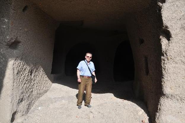 Hidden tunnels of Ani.