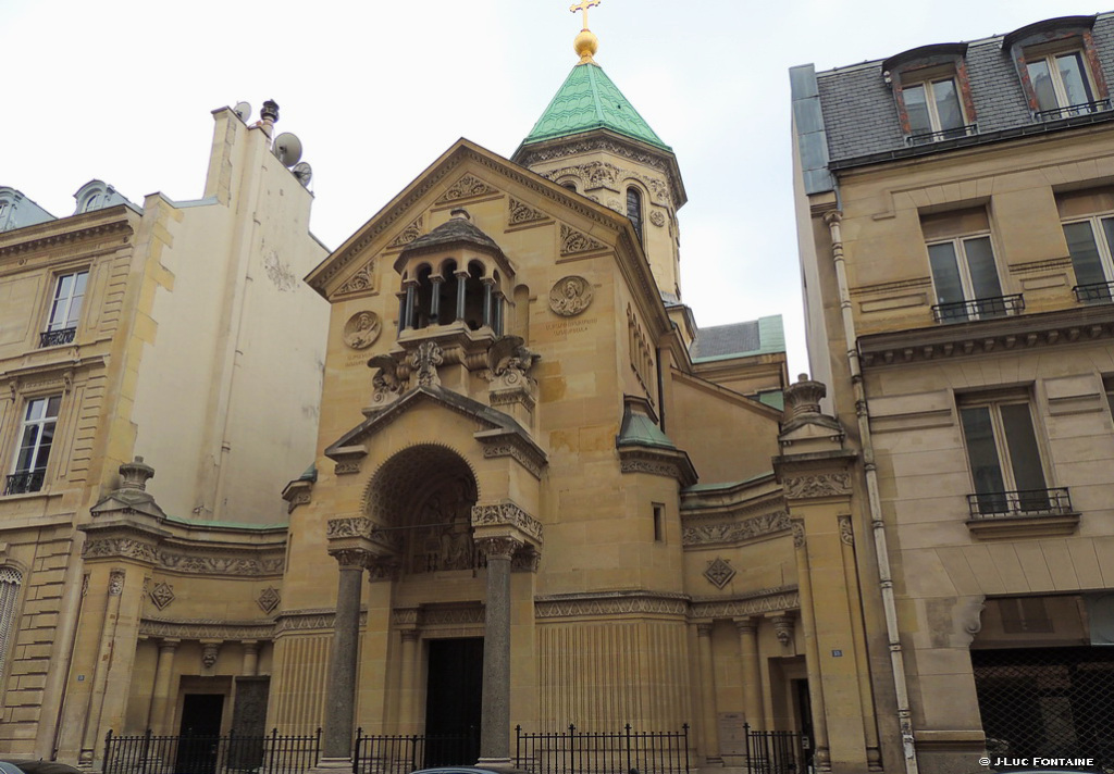 Armenian church in Paris