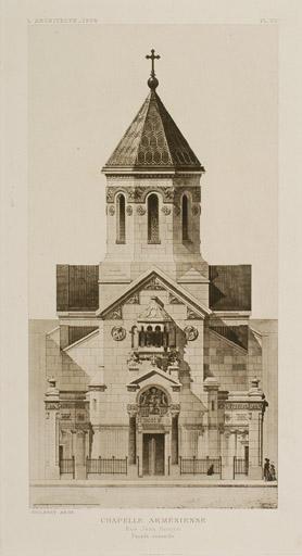 Chapelle arménienne de la rue Jean Goujon