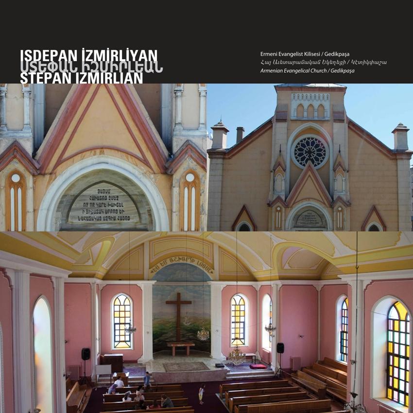 Armenian Evangelical Church by Isdepan İzmirliyan
