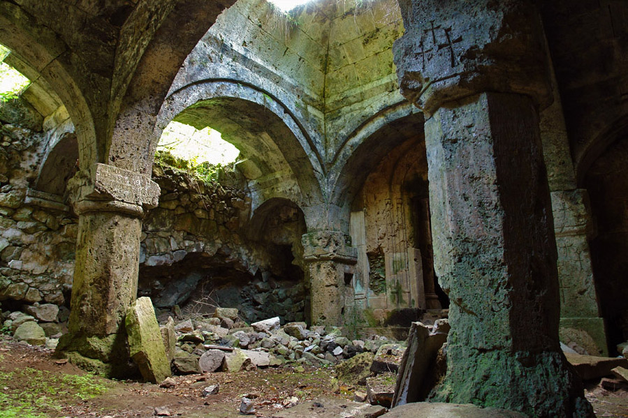Gavit of medieval Armenian church