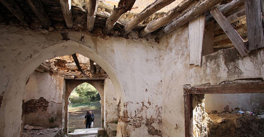 The inside of Sourp Magar (Magaravank 1000 AD)