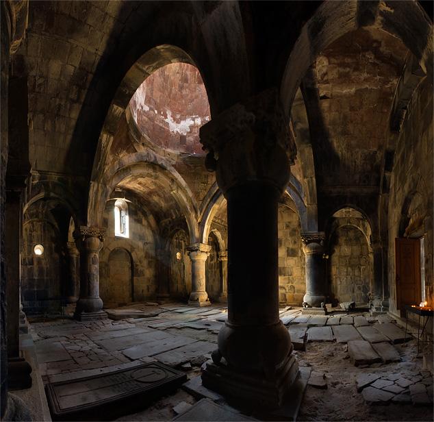 Sanahin Monastery interior