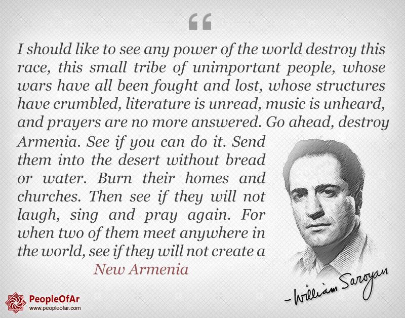 William Saroyan quotes happiness