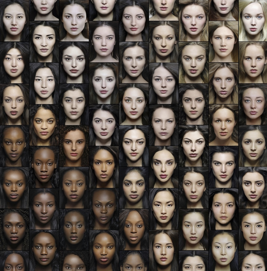 Face Plates: Races, Sub-Races and Ethnicities of Europe