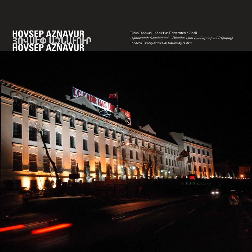 Tobacco Factory - Kadir Has University by Hovsep Aznavur