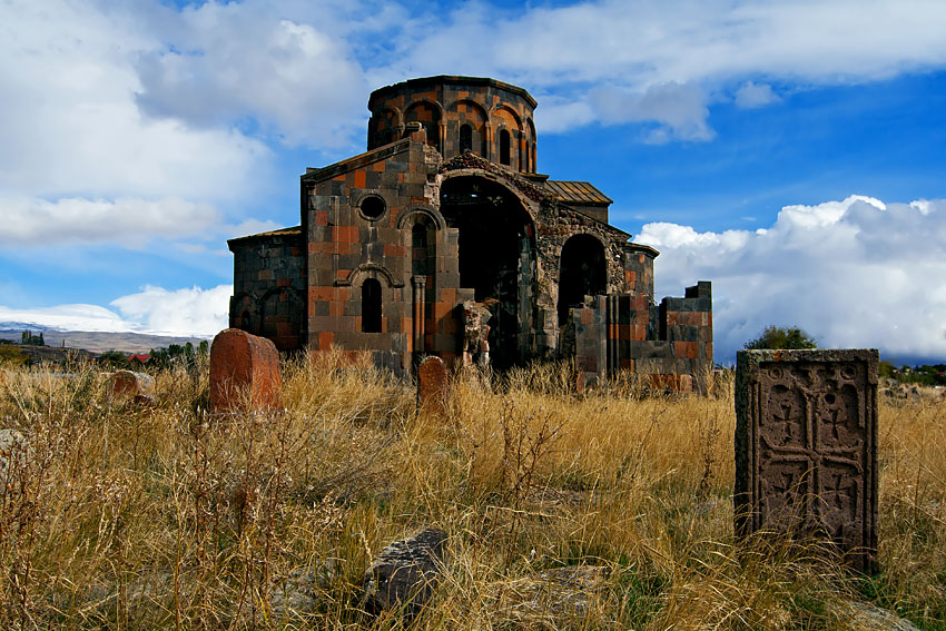 The Cathedral of Talin is a seventh-century Armenian cathedral in the town of Talin, Armenia.