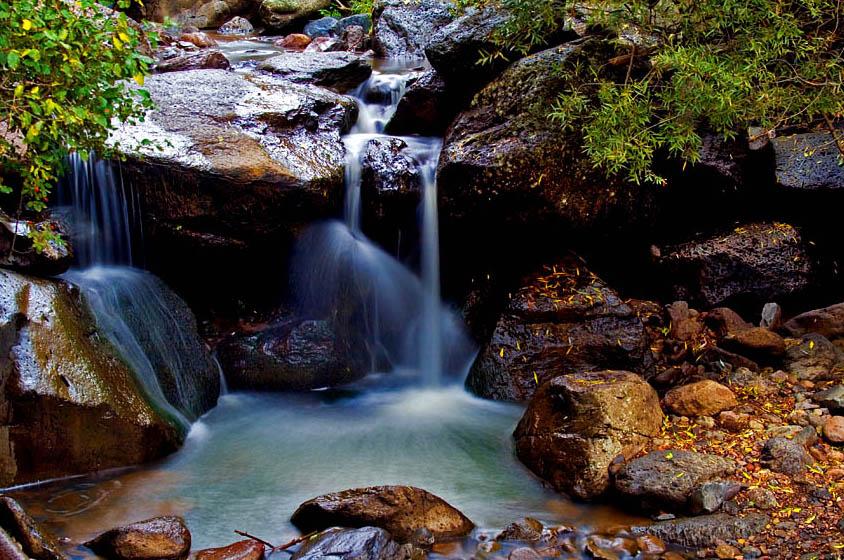 Water fall of Geghard, Armenia