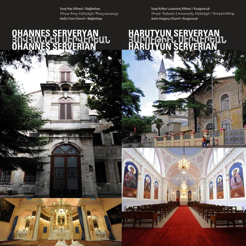 """Holly Cross Church"" by Ohannes Serveryan and Saint Gregory Church by Harutyun Serveryan"
